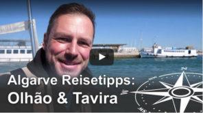 Algarve Ausflugstipp: Olhao und Tavira mit dem Zug