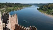 Castelo del Almourol mit Blick auf den Tejo