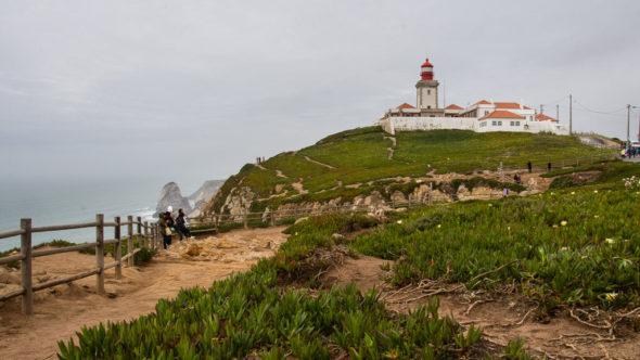 Leuchtturm am Cabo da Roca