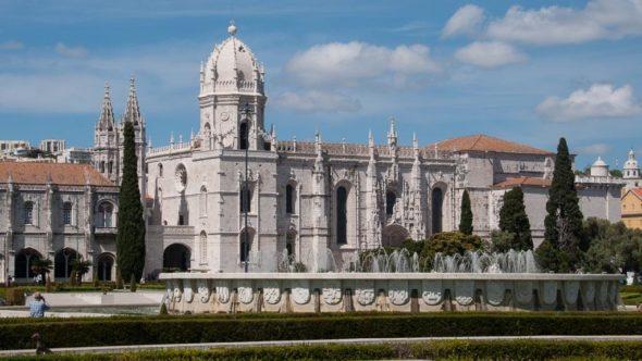 Mosteiro dos Jeronimos in Belem, in der Nähe von Lissabon