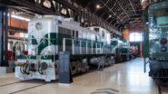 Nationales Eisenbahnmuseum Portugal in Encontramento