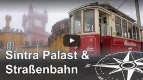 Sintra: Pena Palast und Straßenbahn Electrico de Sintra Video