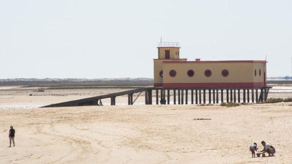 Strand in Fuseta