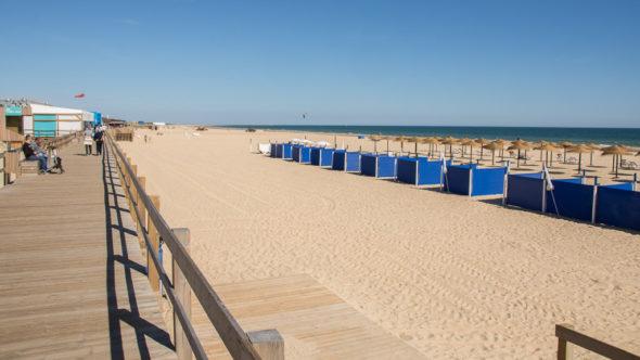 Strand in Monte Gordo