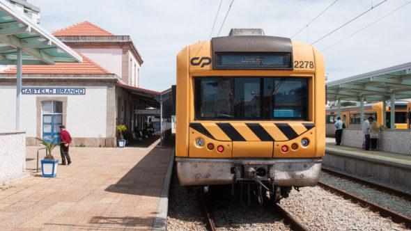Tagesausflug mit dem Zug von Lissabon nach Castelo Branco