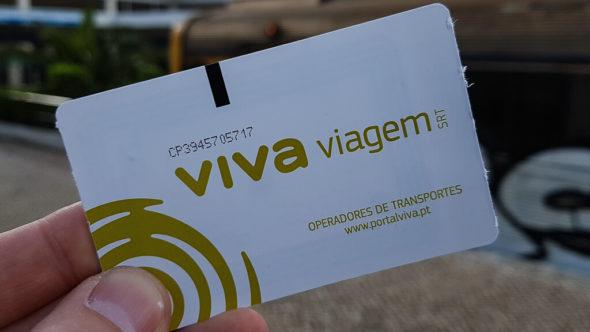 Viva Viagem Ticket Lissabon
