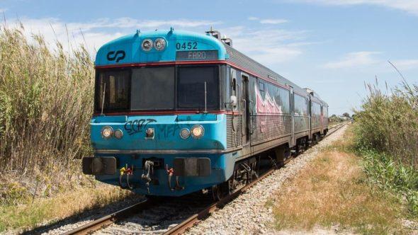 Zug an der Algarve