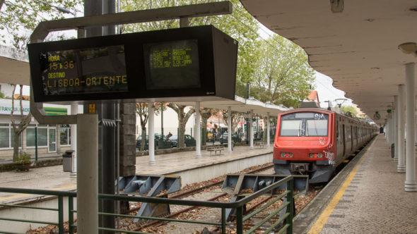 Zug Lissabon - Sintra