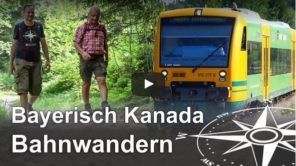 Ausflugsziel Bayerischer Wald: Bahn- und Bierwandern in Bayerisch Kanada (Video)