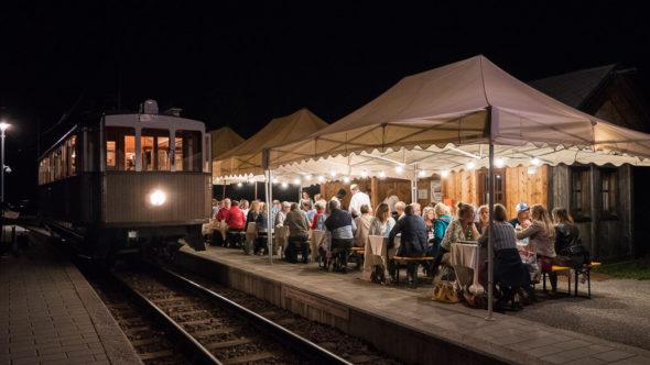Ausflugstipps Südtirol Ritten - Gastronomische Nachtfahrt