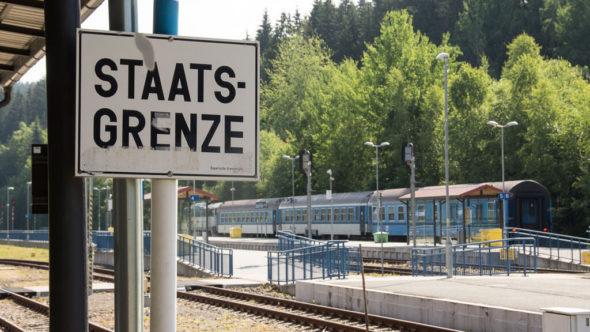 Grenzbahnhof Bayerisch Eisenstein im Bayerischen Wald