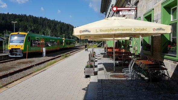Naturpark Wirtshaus im Bahnhof Bayerisch Eisenstein