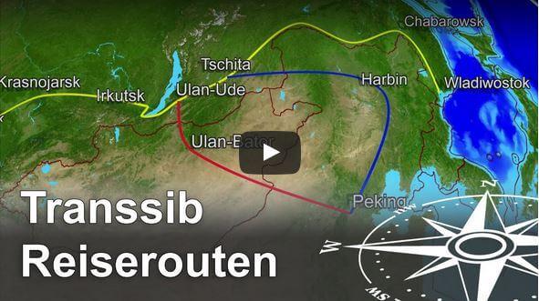 Transsibirische Eisenbahn Routen und bliebteste Transsib Strecke (Video) - Anders reisen
