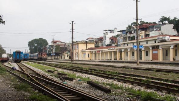 Bahnhof Hanoi Gia Lam