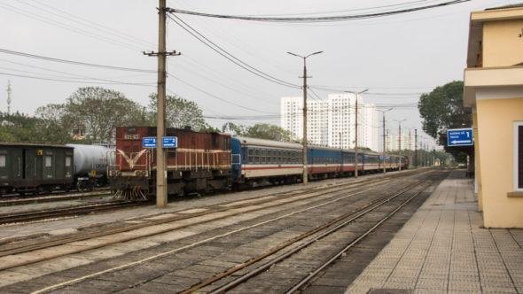 Für den Zug von China nach Vietnam ist in Gia Lam Endstation
