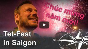 Video Tet-Fest: Vietnamesisches Neujahrsfest in Saigon (Ho-Chi-Minh-Stadt)