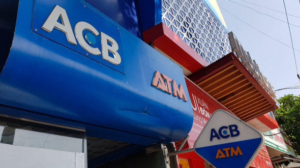 ACB Bank Geldautomat in Vietnam