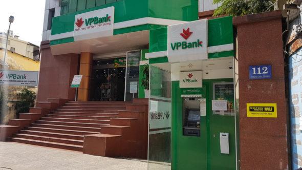 VPBank Geldautomat in Vietnam