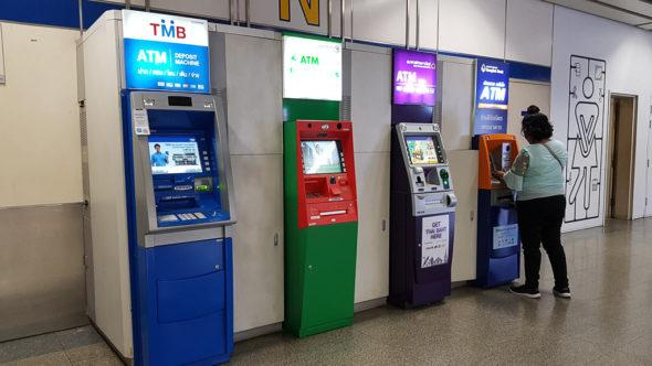 Geldautomaten (ATM) in Thailand
