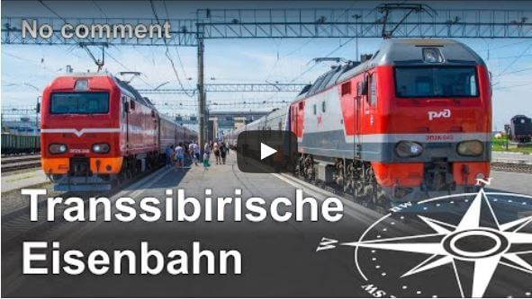 Slow TV: Transsibirische Eisenbahn (ohne Kommentar) - Anders reisen