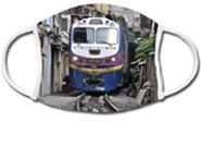 Mund-Nasen-Bedeckung Zug Vietnam