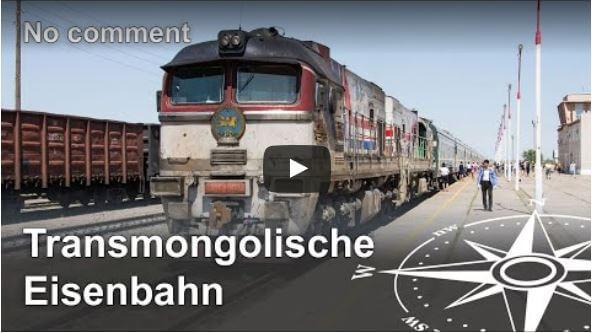 Slow TV: Transmongolische Eisenbahn (ohne Kommentar)