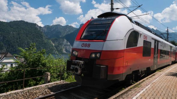 Urlaub ohne Auto - ÖBB Zug