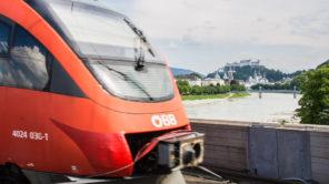 Zug nach Salzburg