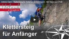 Zahme Gams: Anfänger Klettersteig Video