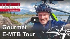 Gourmet E-Mountainbike Tour im Pillerseetal (Video)