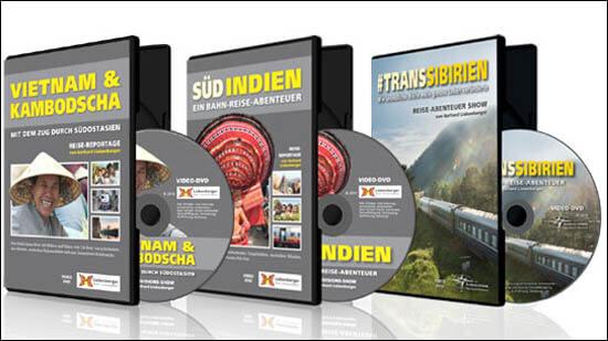 Abenteuer Reise DVDs von Gerhard Liebenberger