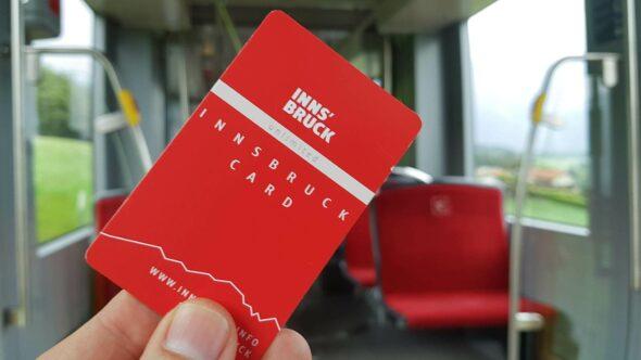 Innsbruck Card für Öffentliche Verkehrsmittel und Sehenswürdigkeiten
