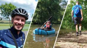 Outdoor Erlebnisse an der Nahe: Wandern, Radfahren, Packrafting (Video)