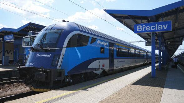 Railjet Zug Tschechien