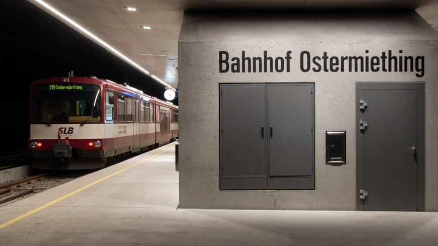 Bild: Bahnhof in Ostermiething